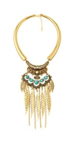 Leaf Choker Collars Necklace