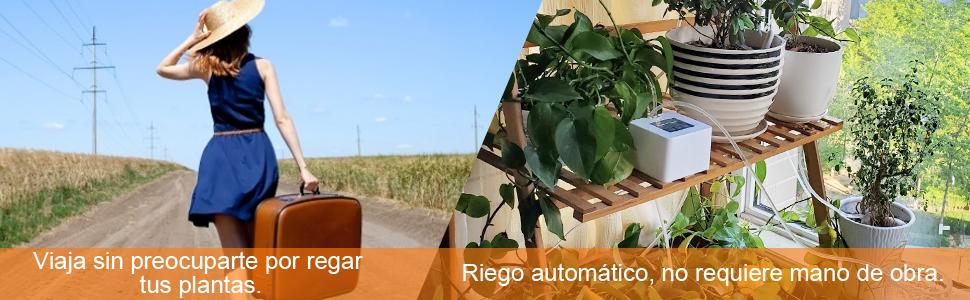 DIY Sistema de Riego, automático Vacaciones Dispositivos de riego ...