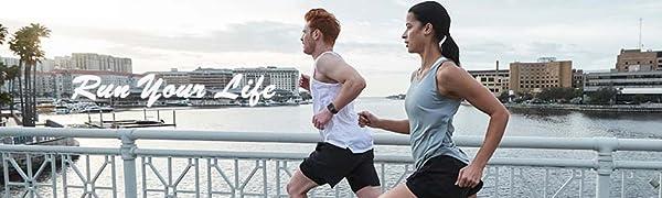 Pudolla mens 2 in 1 running shorts