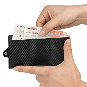 rfid cards carbon wallet mens card holder wallet rfid blocking wallet rfid card protector