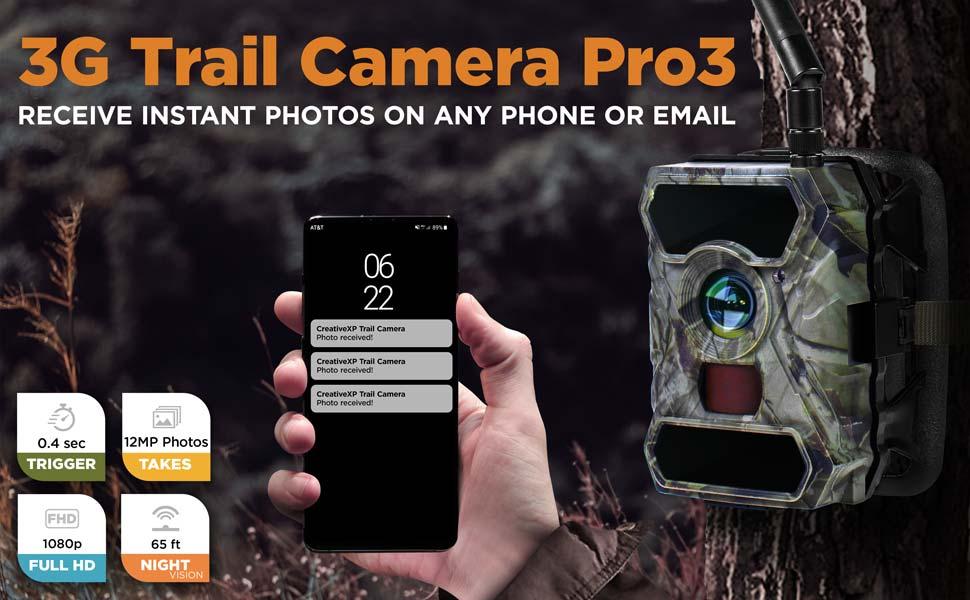 3g cellular game cameras
