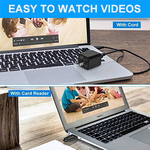 Easy to access and watch videos
