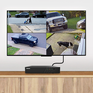 H.265+ NVR cam home business KIT 100FT NIGHT VISION 5MP POE security ip camera system audio