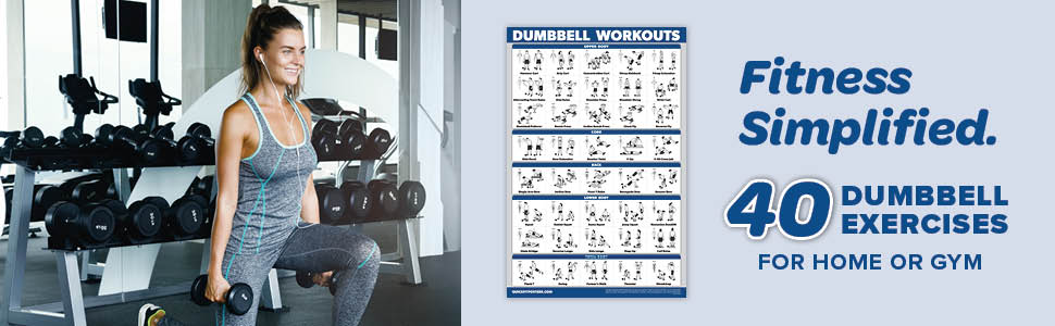 Dumbbell Workouts Poster