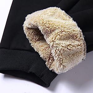 Pullover Winter Fleece pants