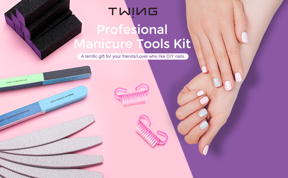 TWING Professional manicure tools kit