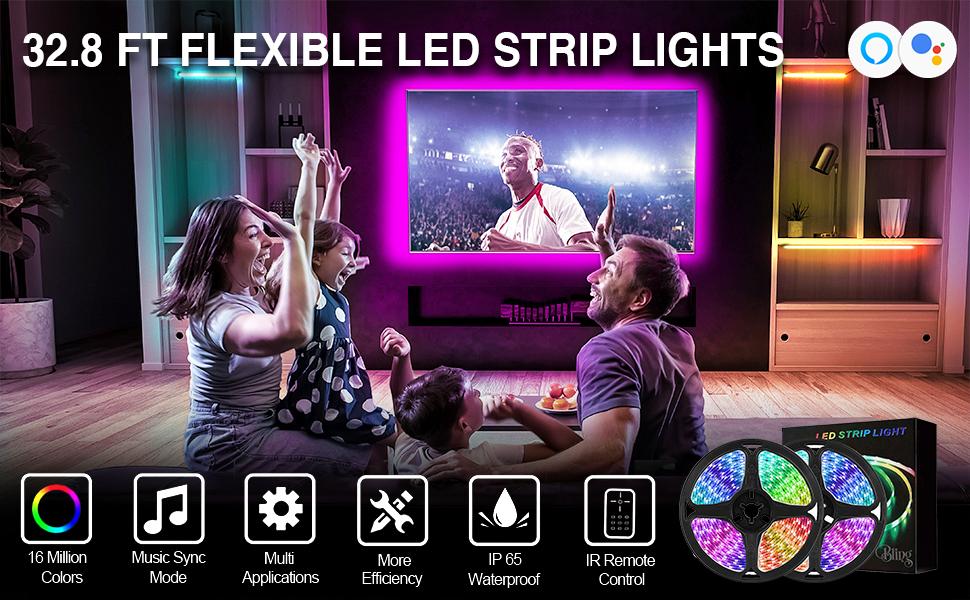 bling led strip light