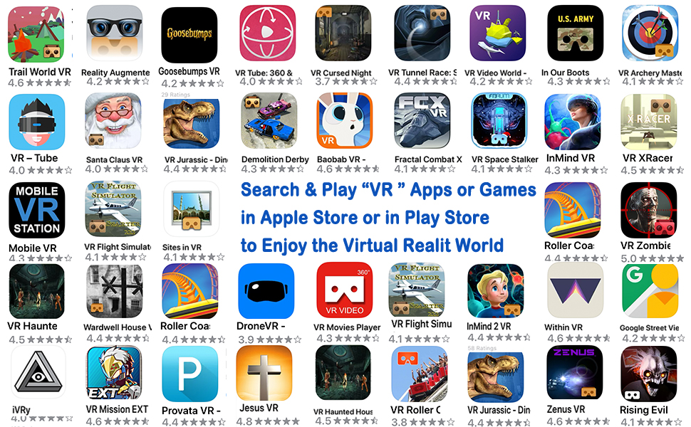 Apple store vr games and apps