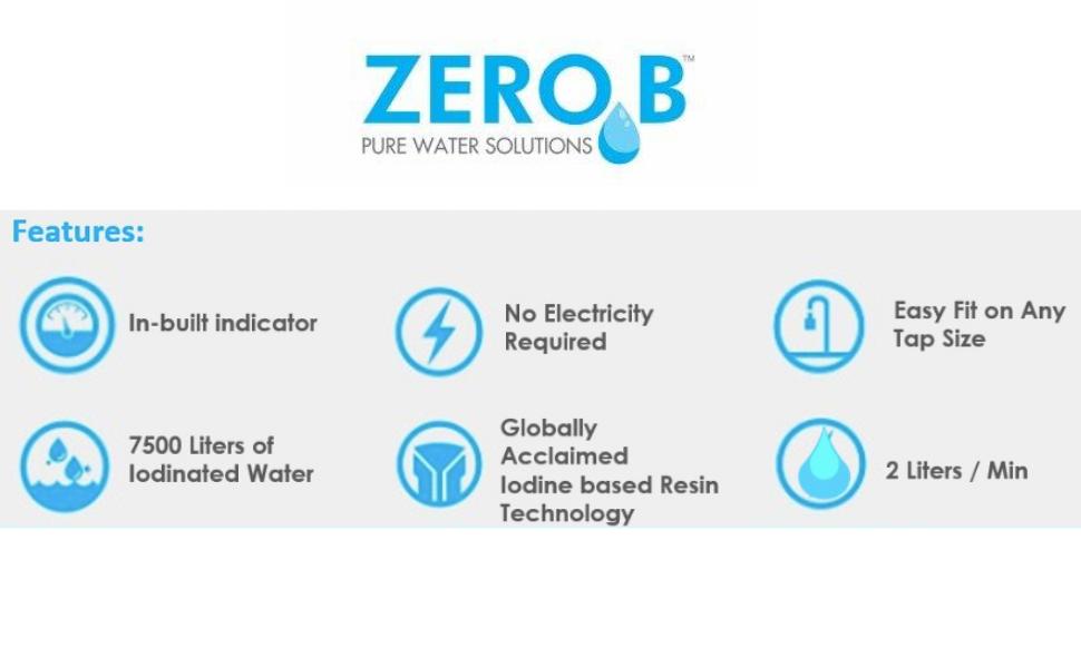 water purifier, tap purifier , no electricity , zero b suraksha