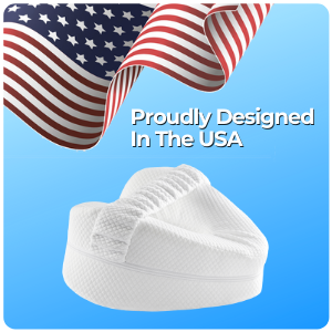 The Tularis Knee Pillow was proudly designed in the USA