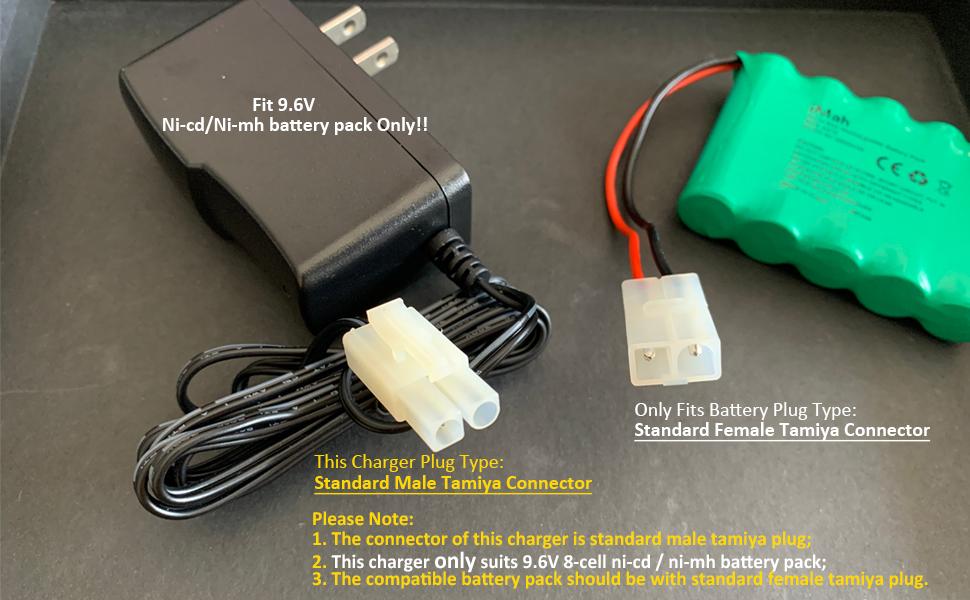 tamiya 9.6v battery charger