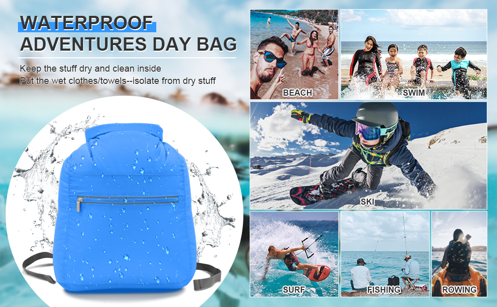 waterproof day bag