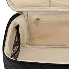large cosmetic bags for women, professional makeup bag, hair organizer, cosmetic bags for women