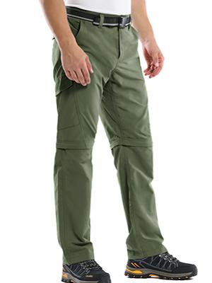 hiking fishing pants for men Tactical cargo work pants zip off leg pants for men
