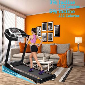 CAROMA Treadmill with Incline