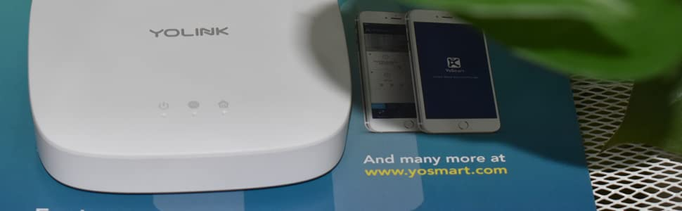 yolink hub smart home solution