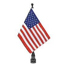 Motorcycle American Flag USA Flag Pole Mount 6 x 9 Motorcycle American Flag USA
