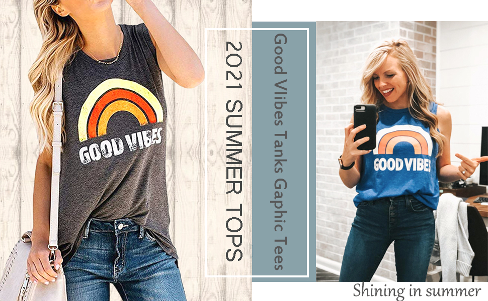 summer tank tops for womens