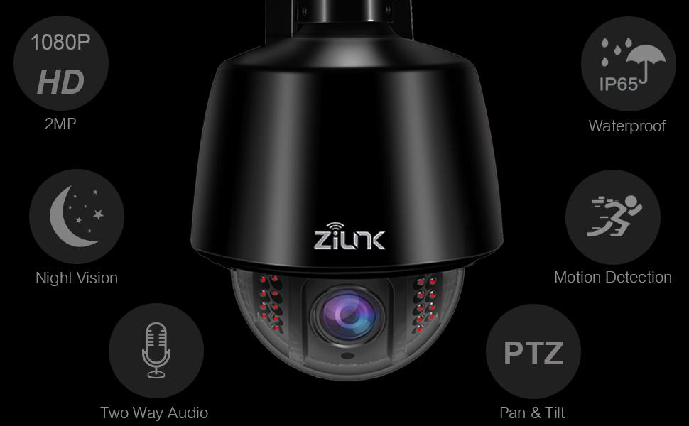 PTZ 1080P Camera