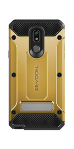 LG Stylo 5 Gold Phone Case - Evocel - Explorer Series Pro Case