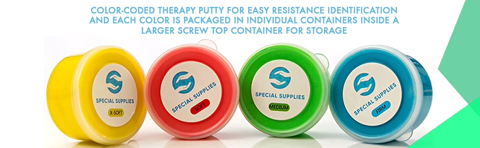 Therapy Putty 4 pack