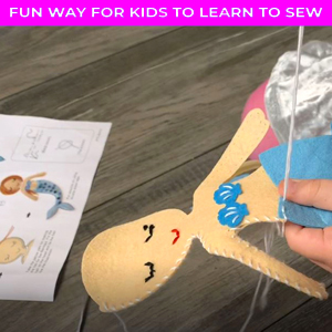 learn to sew kit for girls sewing projects sew crafts sewing craft for kids