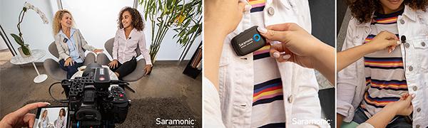 saramonic uwmic9 wireless microphone