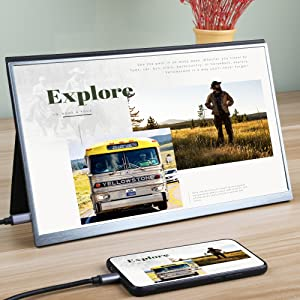 usb c portable monitor