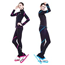 figure skating jackets,pants,ice skating leggings,trousers,competition wear,training wear