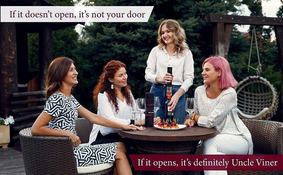 Electric wine opener, wine opener set, wine  gift set, gift for wine lovers