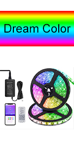Bluetooth strip lights