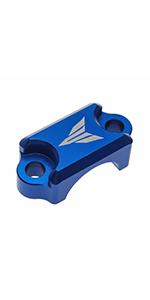 Brake Master Cylinder Clamp Cover (Blue)