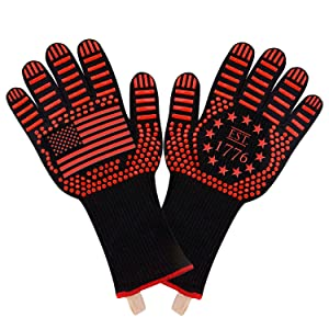 American flag gifts patriotic gifts grill gloves heat proof pizza oven gloves oven gloves men women
