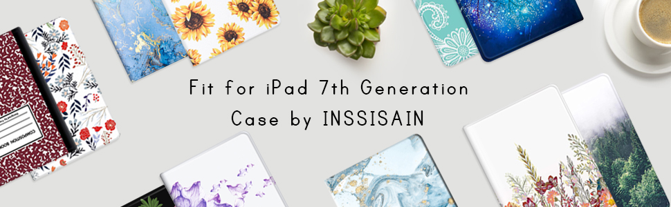 INSSISAIN Smart Case for New iPad 7th Generation