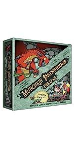 Munchkin Pathfinder Deluxe, Munchkin, Pathfinder, Steve Jackson Games, board game, game, RPG