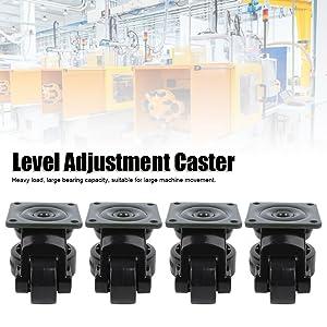 Niveau aanpassing Caster
