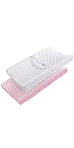girl changing pad cover