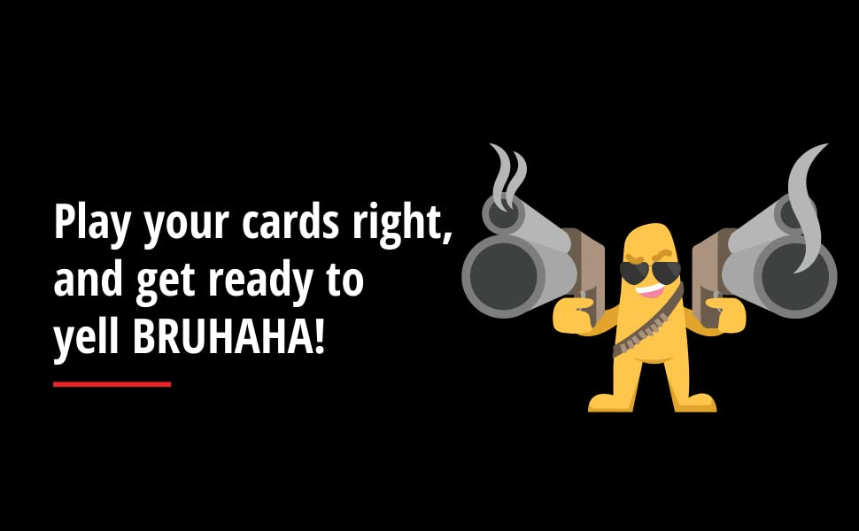 bruhaha victory, play to win, card games for adults, games for family, party games for adults