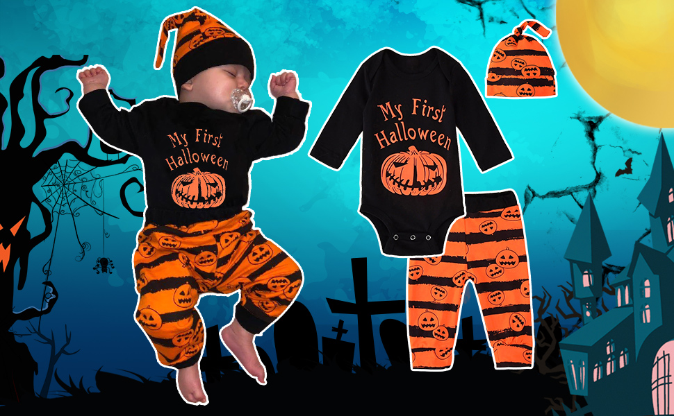 toddler baby boy halloween clothing sets