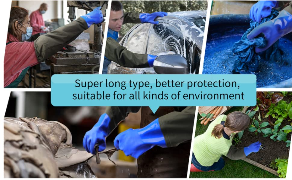 extra long sleeve rubber glovesextra long waterproof gloves,extremely long gloves waterproof gloves