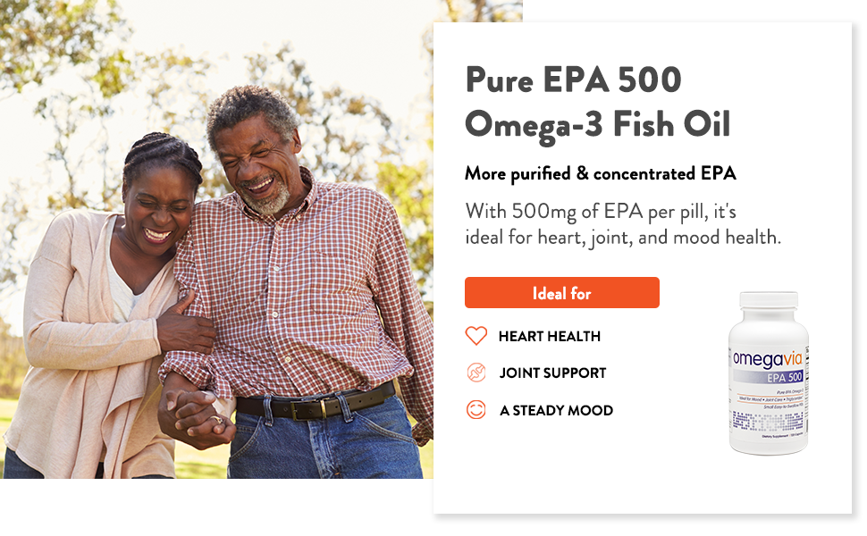 omegavia supplements omega-3 health wellness joints pain relief fish oil circulation concentrated