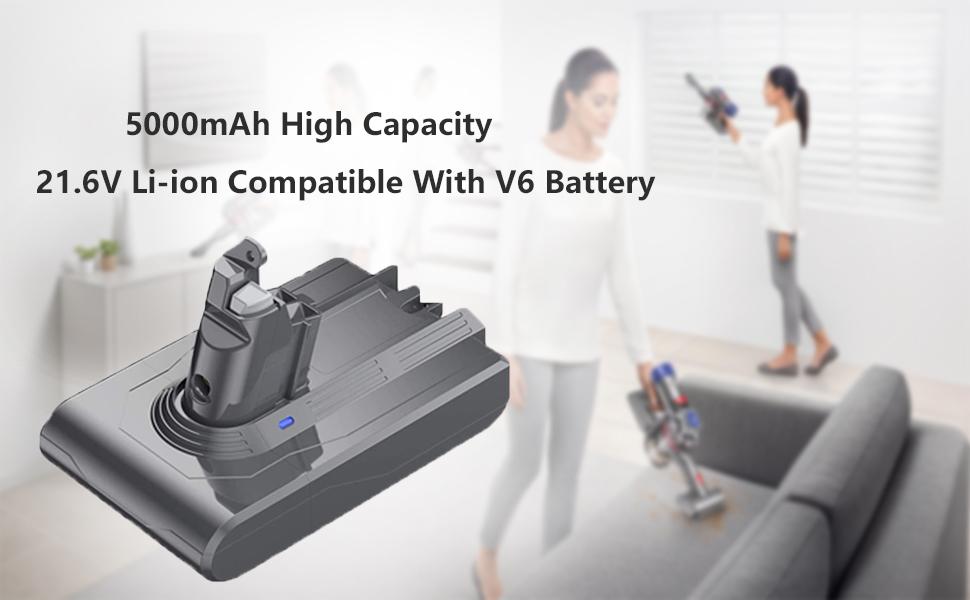 5000mAh High Capacity