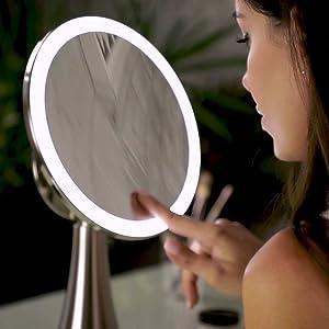 Evolvico Mirror - Rotating Adjustability - 90 degree angle