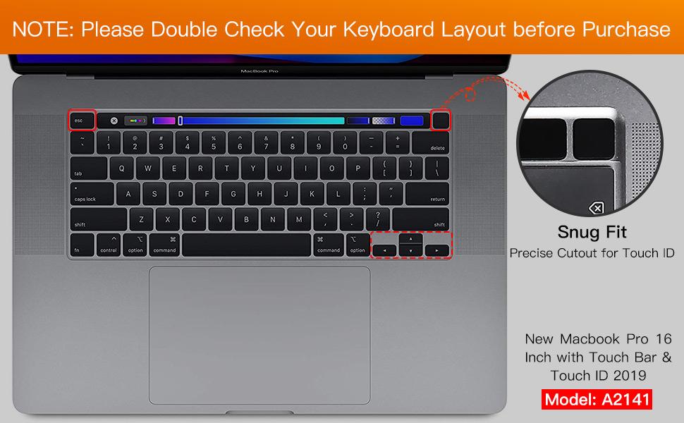 Macbook Pro 16 Inch Keyboard Cover