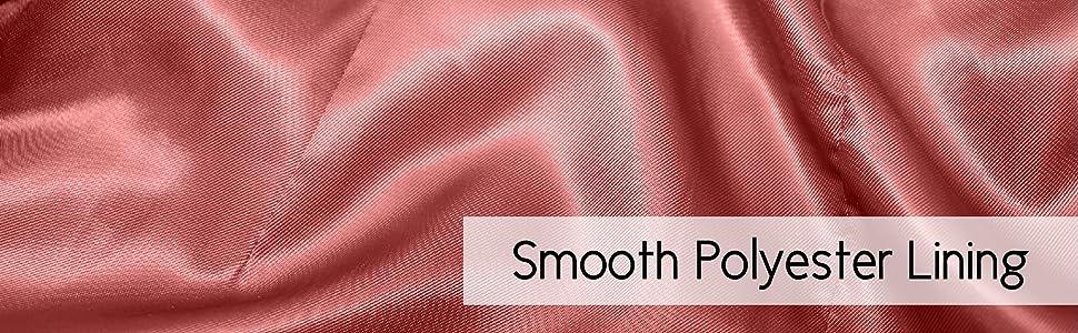 BGSD Smooth Polyester Lining