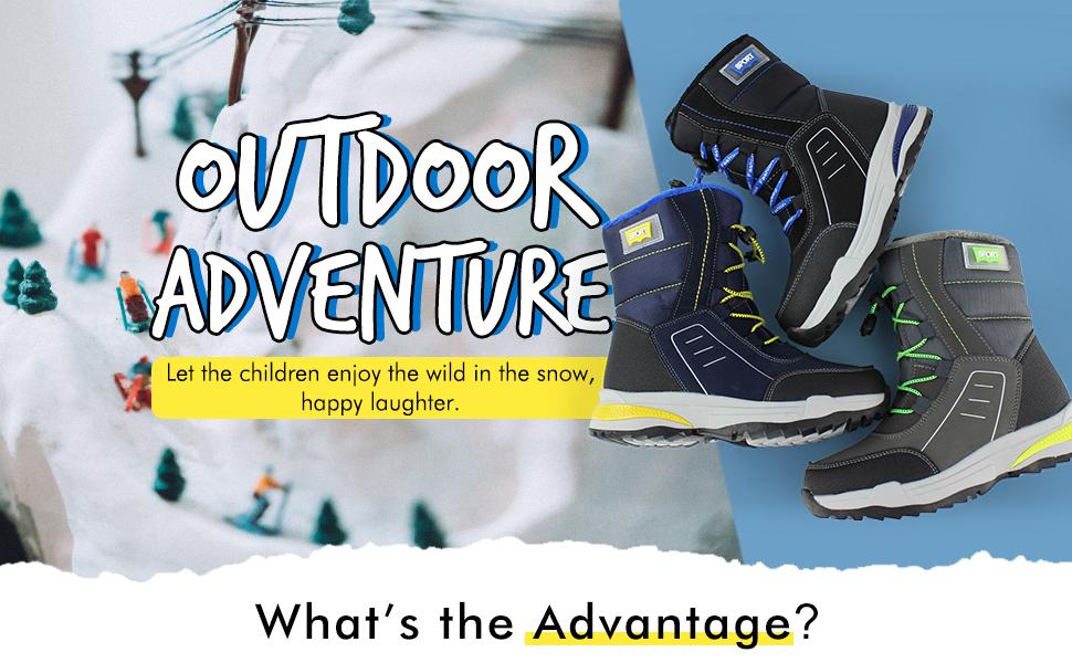 Hawkwell Outdoor boots