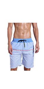 mens pinstripe shorts