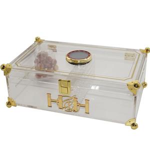 Prisma Collection Lawyer Edition Cigar Humidor Digital Hygrometer Cedar Balls Humidification