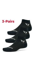 Performance One, 3 pairs, multi-pack socks
