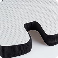 non-slip bottom, xtreme comforts seat cushion,seat cushion for wheelchair,gel car seat cushion